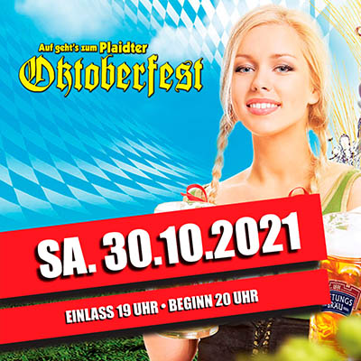 Do. 31.10.2019 - Plaidter Oktoberfest